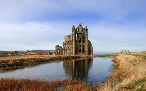 Limited Edition Original Print A4 Whitby Abbey  *DISCOUNTED OFFERS* A3