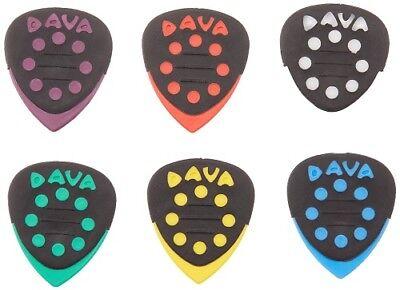 Made in USA 6 Stück Dava Rock Control Pick Delrin