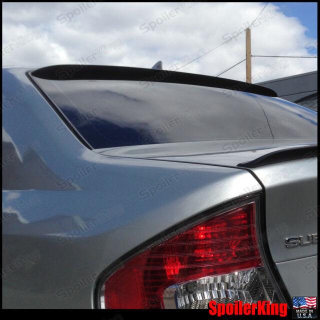 Rear Roof Spoiler Window Wing (Fits: Subaru Legacy 2005-09 4dr BL) SpoilerKing