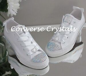 48397a1eac2e Image is loading Mono-White-Junior-Girls-Bridesmaid-Custom-Crystal-Bling-