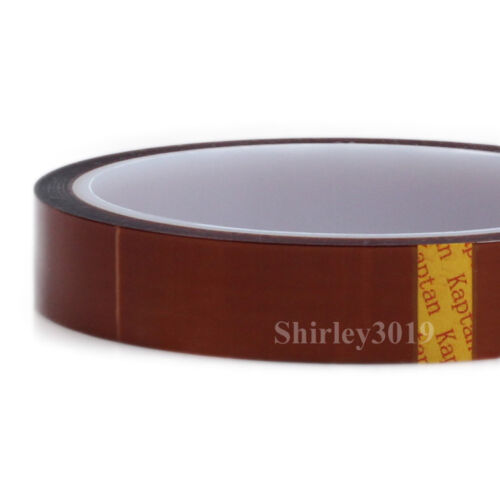 "34mm x 100ft Kapton Tape High Temperature For BGA Polyimide film 1.338/"" x 33M"