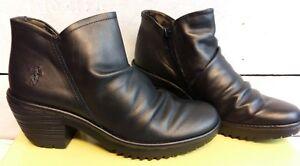 Ladies-Fly-London-Wez-Kelpie-Bronze-Zip-Up-Ankle-Boots
