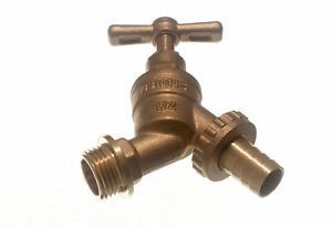 NEUF-exterieur-Raccord-de-tuyau-robinet-bavette-PLUS-4-ARTICLES
