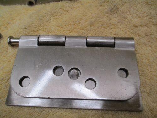 Steel Door Hinge 4 x 4.25 Ultra Hardware Brand #94360 Set of 6 Hinges New
