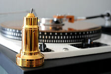 Turntable Lamp.Portable LED Lamp. 24K Gold Plated, Garrard 301,401. Technics GLD