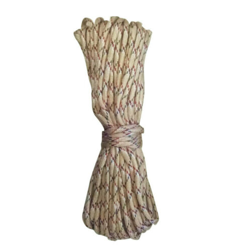 17m 550-pound Parachute Cord Mil Spec Type III Paracord 7 Strands Cores N FIR