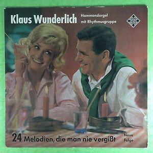 Klaus-Wunderlich-24-Melodien-Die-Uomo-Nie-Vergisst-Telefunken-SLE-14315-P-Ex