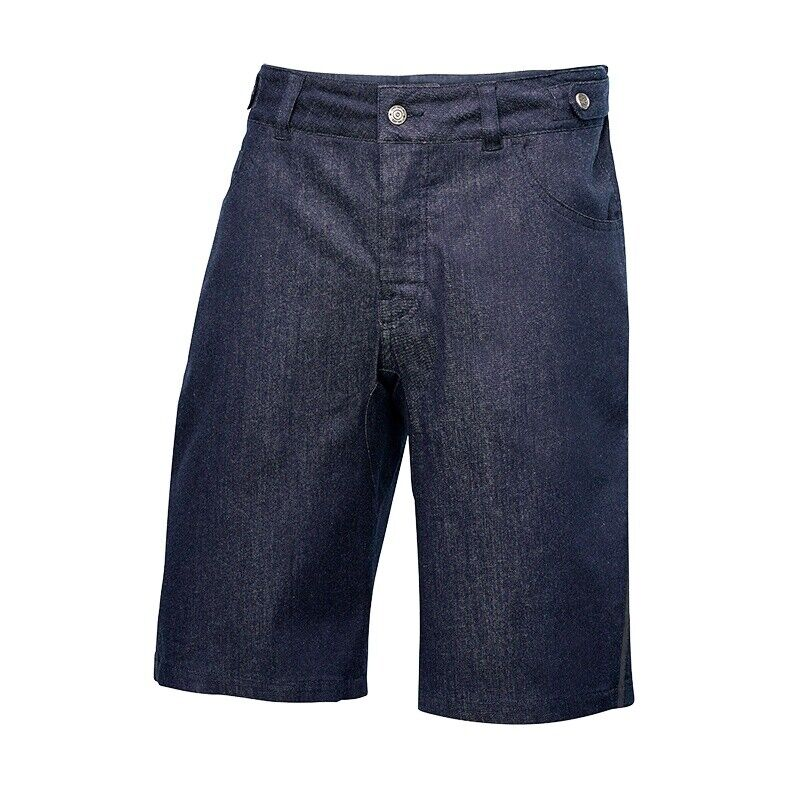 Protective TECTRON Fahrrad DENIM Herren Classic Cargo-Shorts, Deep Blau (  )