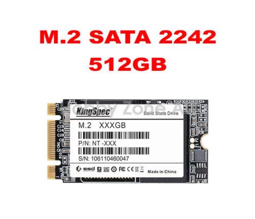 KingSpec 128GB 256GB 512GB 1TB 2TB M.2 NGFF SATA SSD B+M Key Solid State Drives