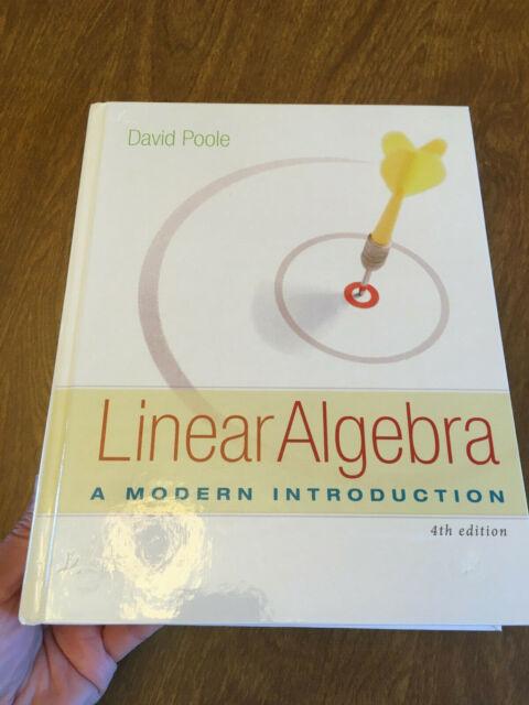 Linear Algebra: A Modern Introduction 4th ed. David Poole HC 2015 VG