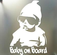 Baby on Board sticker funny car window laptop Hangover Carlos