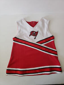 2cca8e18 Details about Tampa Bay Buccaneers New NFL Football Cheerleader Outfit  Girls Size 2T
