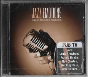 Cd - Jazz emotions les plus belles voix masculines
