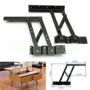 Image Is Loading 2Pcs Lift Up Top Coffee Table Lifting Frame