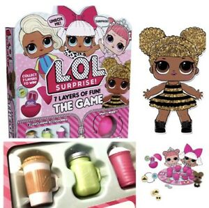 LOL-Surprise-L-O-L-Ball-Board-Game-Free-Bottle-Doll-Accessories-Bonbon-Queen-Bee