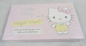 Image Is Loading Hallmark Hello Kitty Card Height Chart Wall Mounted