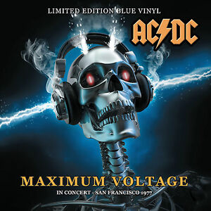 ACDC  Maximum Voltage In Concert San Francisco 1977Ltd Edition Blue Vinyl - <span itemprop=availableAtOrFrom>Stratford upon avon, Warwickshire, United Kingdom</span> - Full refunds provided for defective or damaged goods. Please notify us within 14 days of receipt of item if you would like a refund. Most purchases from business - Stratford upon avon, Warwickshire, United Kingdom