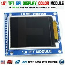 18 Inch Serial Spi Tft Lcd Module Display 128x160 Dot Matrix 33v 5v Sd Card