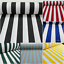 White-Stripe-Fabric-Sofia-Stripes-Curtain-Upholstery-Material-280cm-EXTRA-wide thumbnail 1