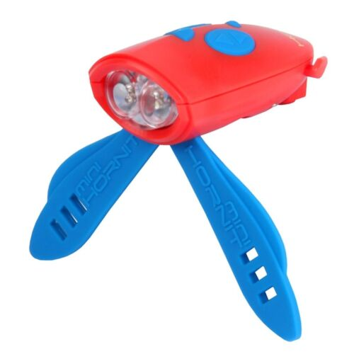 MINI HORNIT Bicycle Horn Bike Scooter Lights Sound Effects Red Blue NEW!