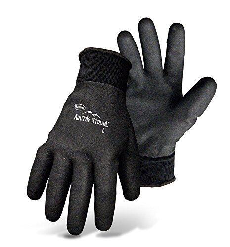 Boss 7841L Artik Xtreme Fully Coated Nitrile Palm Glove Black Large
