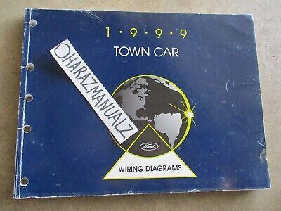 1999 Ford Lincoln Town Car Wiring Diagrams Manual OEM | eBay