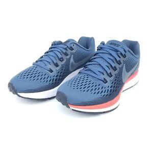 138a6f42d40e Nike Air Zoom Pegasus 34 Womens Running Shoes Blue Fox Crimson ...