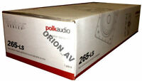 Polk 265-LS In-Wall Speakers Home Theater Speakers and Subwoofers