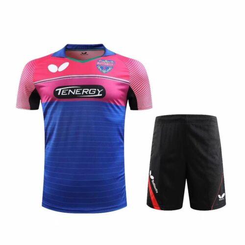 New Men/'s Tops Sportswear Clothing badminton tennis T-shirt shorts Logo Print