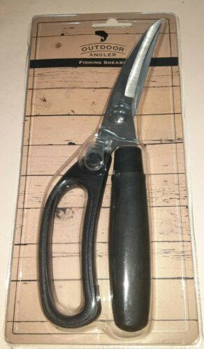 Outdoor Angler Fishing Shears Stainless Steel  Great for Cutting Bait