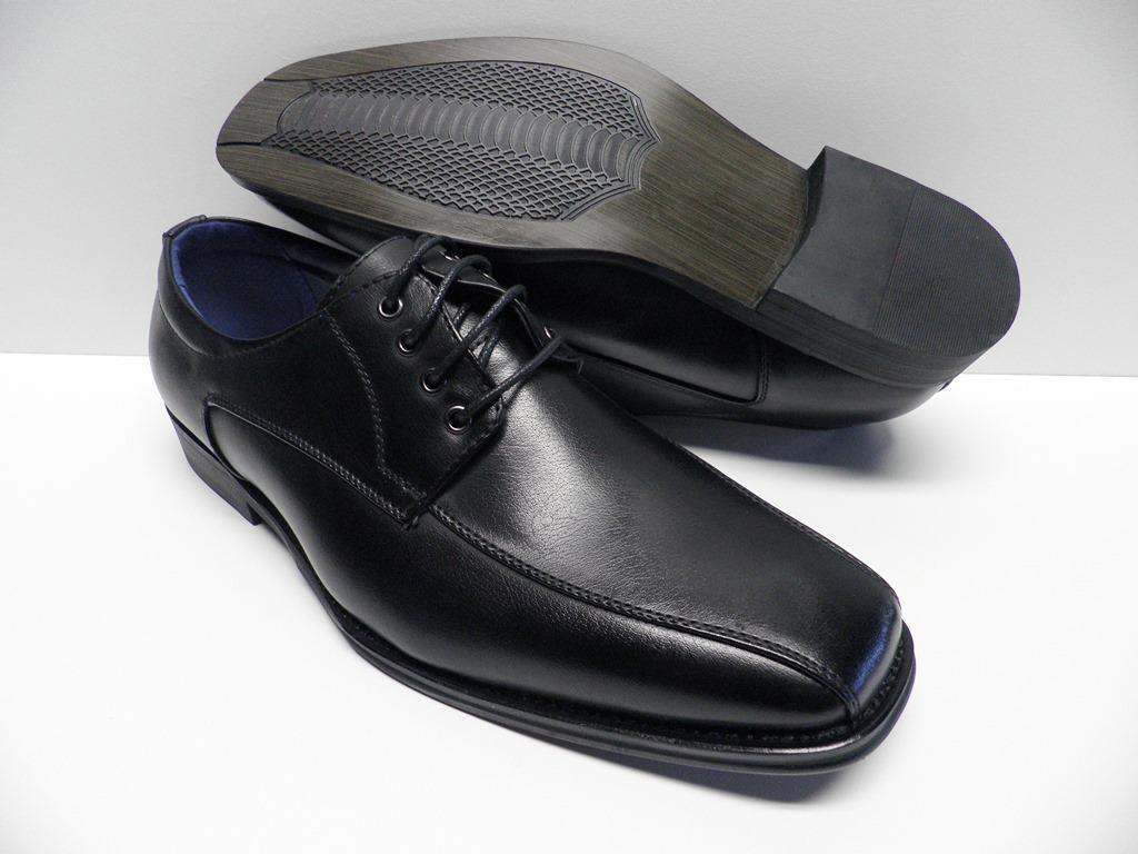 shoes de ville black pour HOMME size 40 costume mariage lacet NEUF  TS-A17