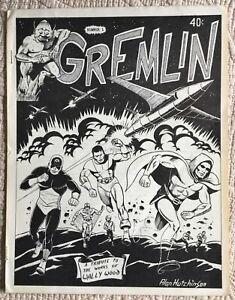 Scarce-Classic-1971-Fanzine-GREMLIN-1-VG-FN-Wally-Wood-Tribute