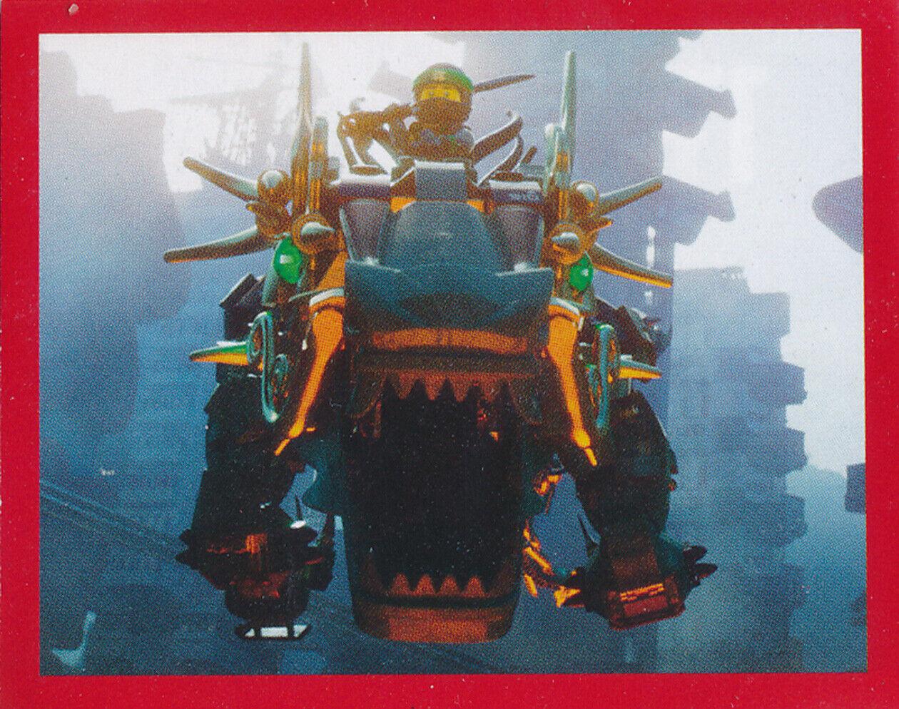 Blue Ocean Lego Ninjago-Movie-sammelsticker 199