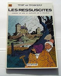 TIF-ET-TONDU-20-Les-ressuscites-WILL-TILLIEUX-BD-EO-Souple-DUPUIS-1973