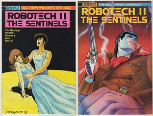 ROBOTECH-II-Sentinels-Masters-Macross-Anime-VF-LOT-12-Manga-Comico-Eternity