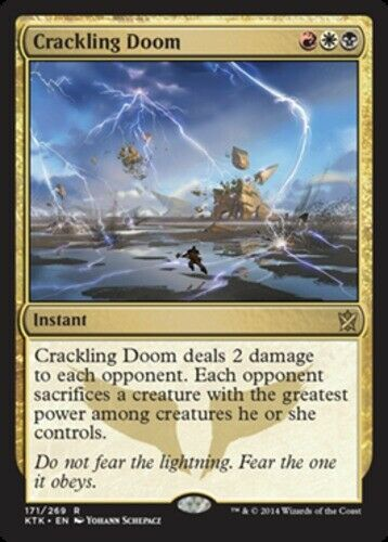 4x Doom Blade NM-Mint English Magic 2014 MTG Magic