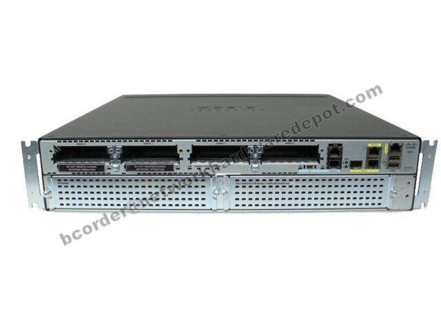 Cisco 2921 VOICE/sécurité Routeur CISCO 2921-VSEC/K9 C2921-VSEC/K9 avec PVDM