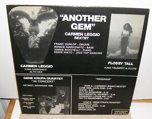 Carmen-Leggio-Sextet-amp-Gene-Krupa-Quartet-Another-Gem-Autographed-LP