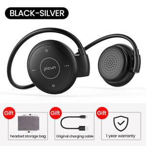 Bluetooth-5-0-Headphone-Wireless-Bass-Earphone-Neckband-Headset-Mic-Support-MP3