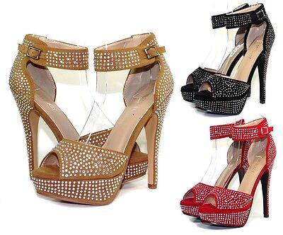 "IVETTA-21 New Blink Fashion Party Prom 5.5"" High Heel 1"" Platform Women's Shoes"