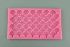 Mermaid Scales Silicone Mold 19.5cm x 10.5cm