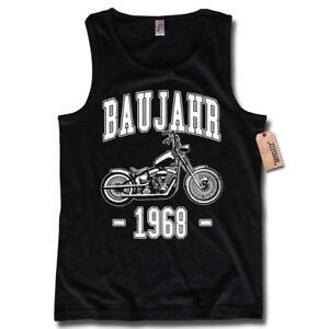 Tank Top Baujahr 1968 50 Geburtstag Biker Motorrad Schrauber