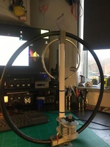 Details about Magnetic Loop Antenna UK MADE 6 BAND 20-17-15-12-11/10 METERS
