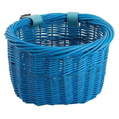 Sunlite Willow Mini Strap-On Basket Sunlt Ft Willow Mini Blu Strap-on9.75x6x7.5