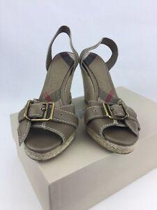 Compensées En Chaussures Taille Pierre Burberry Foncée 41 Iybf7gy6v Ac4R3jL5q