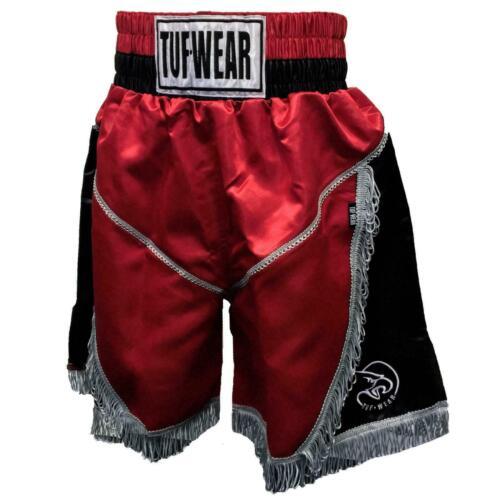 TUF Wear Boxe Pantaloncini Uragano Pro-rosso