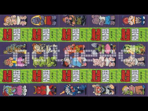2013 USA Garbage Pail Kids Brand New Series 2 COMPLETE Foldees Set BNS2