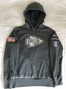 new concept af017 9a3a4 Details zu NIKE Kansas City Chiefs Salute To Service Hoodie Pullover M L  NFL Football USA