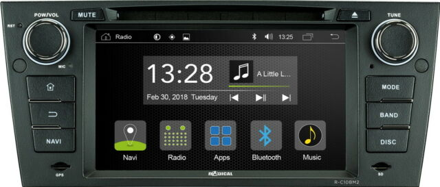 "For BMW 3er E90 Saloon 7 "" App Android Car Radio Navigation CD Wifi USB BT"