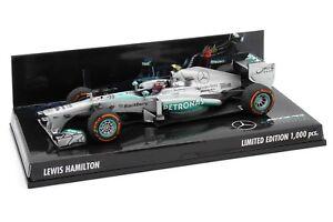 1-43-MINICHAMPS-Lewis-Hamilton-Mercedes-AMG-Petronas-F1-W04-2013-USA-GP-F1-2018
